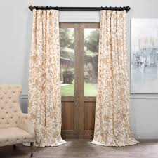 Cream Embroidered Curtains Embroidered Cotton Crewel Curtains Cotton Curtains