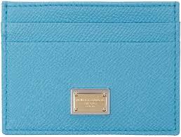dolce gabbana light blue mujer dolce gabbana blue leather card holder women dolce and gabbana