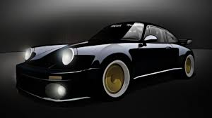 devil z blackbird porsche oppositelock 911 turbo 930 mid night club