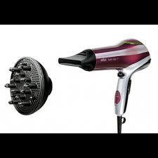Hair Dryer Braun braun satin hair 7 hd770 colour hairdryer with diffuser frog ee