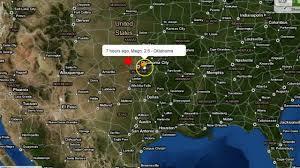 Usa Fracking Map by Oklahoma 5 1 Earthquake Hits In Fracking Region Shaking Felt In