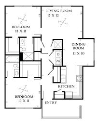 bedroom flat architectural drawing duashadicom floor plan