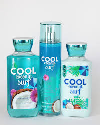 amazon com bath and body works cool coconut surf gift set of