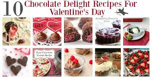 10 chocolate delight recipes for valentine u0027s day