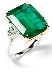 engagement rings green images Vintage emerald cut engagement rings emerald engagement rings jpg
