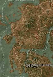 The Witcher 3 World Map by Velen Spitfire Bluff Map The Witcher 3 Wild Hunt Maps U0026 Quests