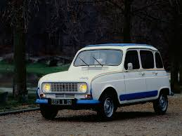 a look at the limited edition renault 4 jogging ran when parked