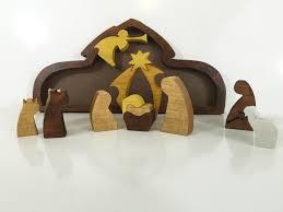 wooden nativity set 7 unique nativity sets cool picks