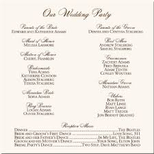 Wedding Program Outline Template Church Christmas Programs Learntoride Co