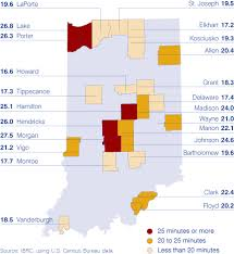 Indiana travel time to work images On the road again how hoosiers get to work gif