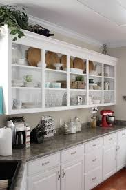 Kitchen Shelves Instead Of Cabinets by Perfect Kitchen Shelves Instead Of Cabinets Parquet Floors Black