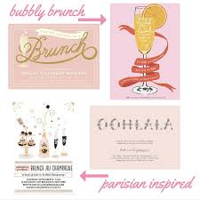 mimosa brunch invitations hostess with the mostest bridal shower invitation inspiration