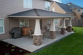 Backyard Concrete Ideas Backyard Patios Designs Zamp Co