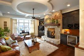 The Right Builtins For Your Fireplace - Family room built in cabinets