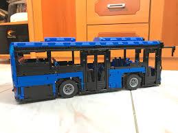lego moc 5161 motorized bus technic 2016 rebrickable build