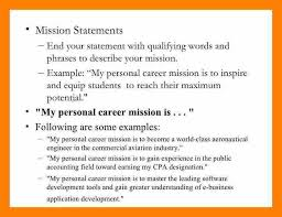 personal statement examples resume personal statement opening