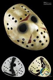 resin jason voorhees mask halloween hockey mask friday the 13th
