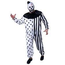 clown jumpsuit scary killer clown costume fancy jumpsuit dress set