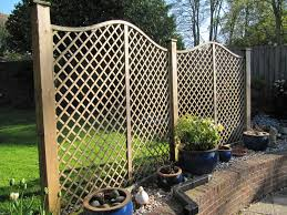 Decorative Garden Fencing Panels • Fences Ideas