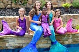 live mermaids pool giveaway cute girls hairstyles