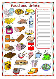 fruit and vegetables matching worksheet free esl printable