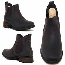 ugg sale boots ugg sale 1 left ugg leather bonham boots black from