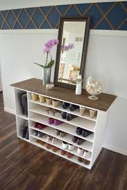 Diy Build Shelves In Closet by Best 25 Diy Shoe Rack Ideas On Pinterest Shoe Rack Diy Shoe