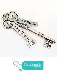 new home ornament skeleton key ornament