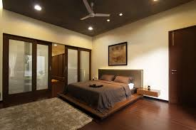 white and gray bedroom color furnishing design with leather