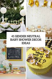 baby shower decorating ideas 41 gender neutral baby shower décor ideas that excite digsdigs