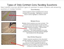 reading comprehension test for grade 5 literacy math ideas a school year of daily common