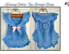 crochet pattern bohemian vest mandella vest kids child