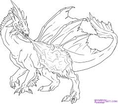 7 images drago art coloring pages cute phoenix coloring pages