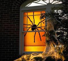 30 simple halloween ideas for mysteriously glowing window decorations