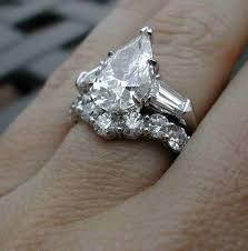 Pear Shaped Wedding Ring by Three Stone Pear Shaped Engagement Rings Pricescope Forum