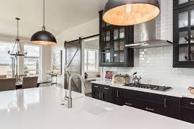 modern farmhouse kitchen black cabinets brilliant boise white and black cabinets farmhouse kitchen