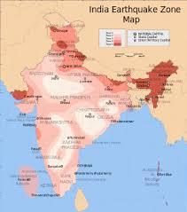 middle east earthquake zone map earthquake zones of india