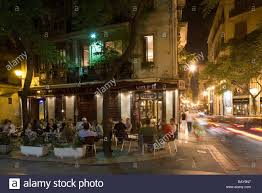Outdoor Cafe Lighting by Sant Jaume Outdoor Cafe Barrio Del Carmen Evening Valencia