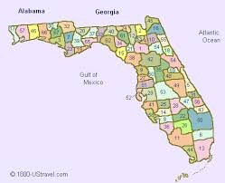 map of florida counties 1800 ustravel us travel guides