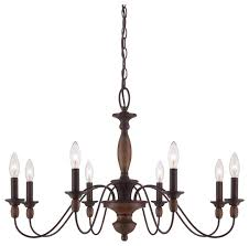 Quoizel Downtown Chandelier Quoizel Holbrook Chandelier Traditional Chandeliers By