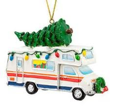 rv recreational vehicle blown glass ornament decoration