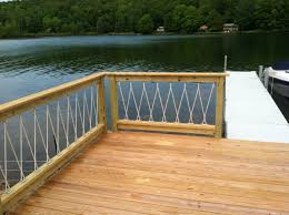 cantilevered deck awesome cantilevered deck and nautical railing house and home