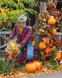 fall decorations for outside americana fall autumn autumn scarecrows and