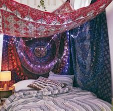 Decorate Bedroom Hippie Tapestry Bedroom Ideas Design Decorating With Theme Tapestry