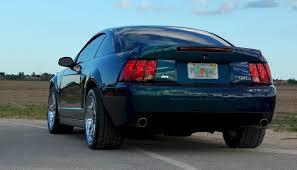 2004 mustang svt mystichrome blue 2004 ford mustang svt cobra coupe