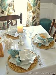 Dining Room Table Setting Dishes Inspired Tablescape With Better Homes And Gardens New