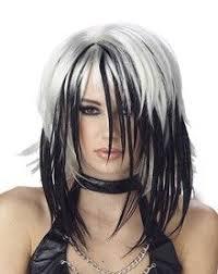 gray hair streaked bith black 8 best grey hair images on pinterest white hair colourful hair