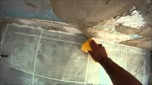 how to grout a tiled bathroom floor hd youtube