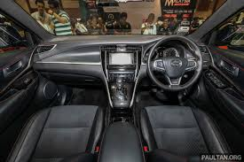 harrier lexus interior gallery 2018 toyota harrier in malaysia u2013 facelift model 231 ps