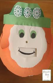 st patricks day crafts leprechaun with feelings